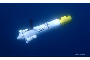 sparusII-AUV-sea